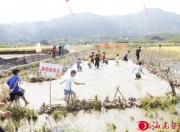 陆河河口举办首届稻渔之乐农耕文化节