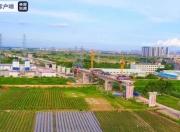 广汕铁路跨永石大道特大桥合龙