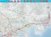 深汕高铁线路图曝光 深圳到深汕大约40分钟