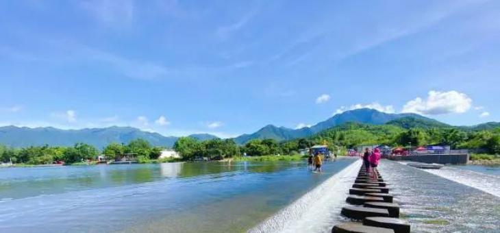 海丰最美的山水静地 洋公坝迎来丰水期