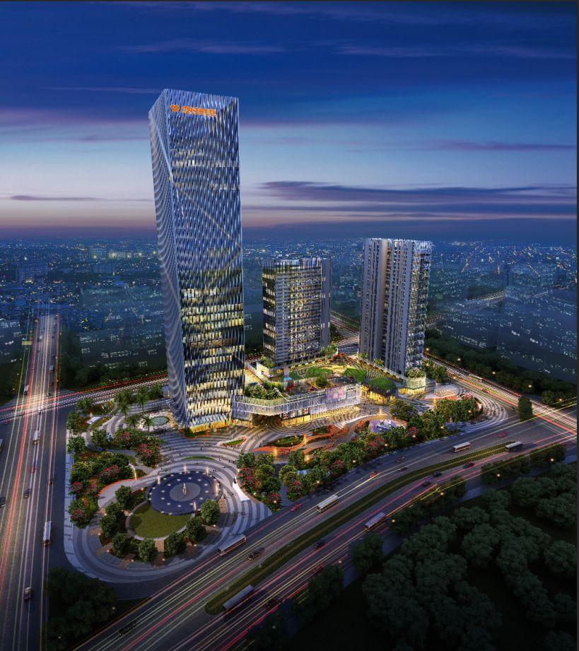 汕尾金融中心即将封顶 能成为汕尾的新地标吗? 汕尾新闻 第1张