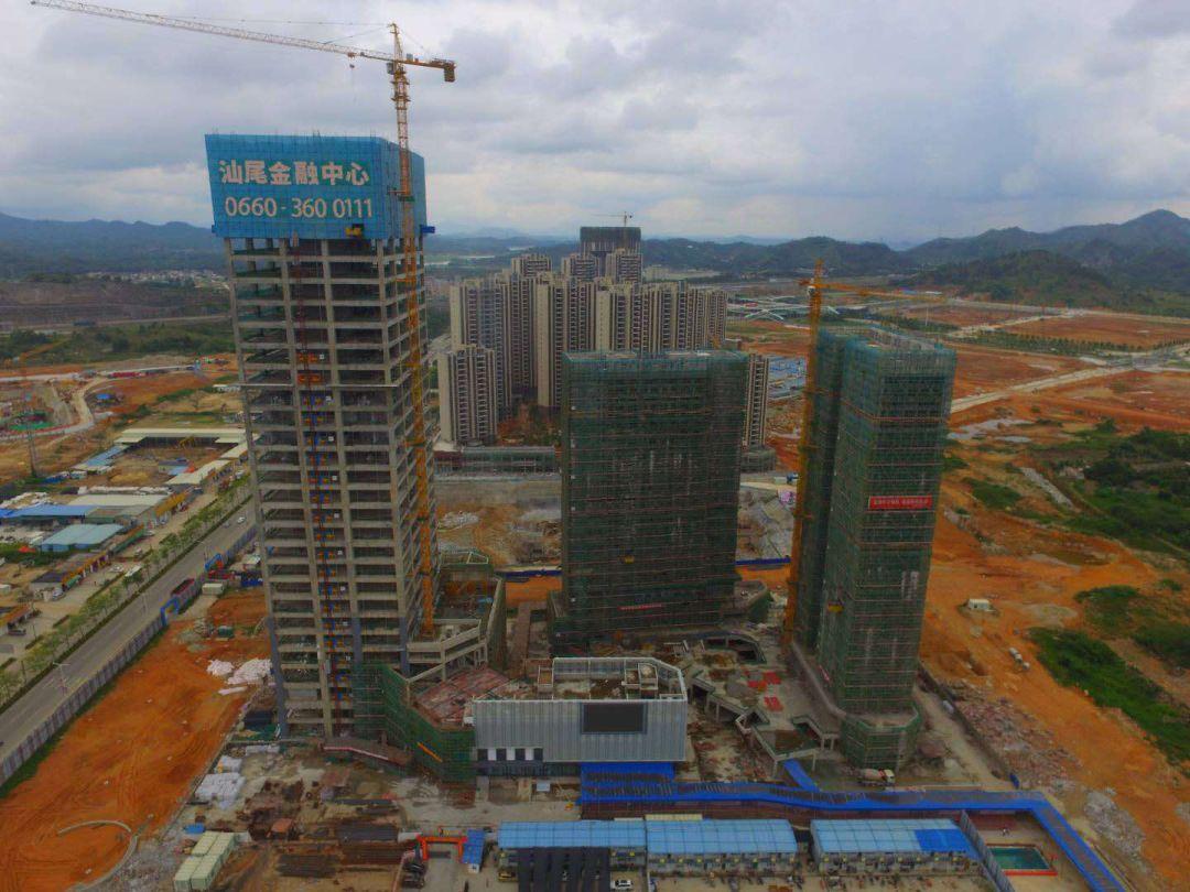 汕尾金融中心即将封顶 能成为汕尾的新地标吗? 汕尾新闻 第2张