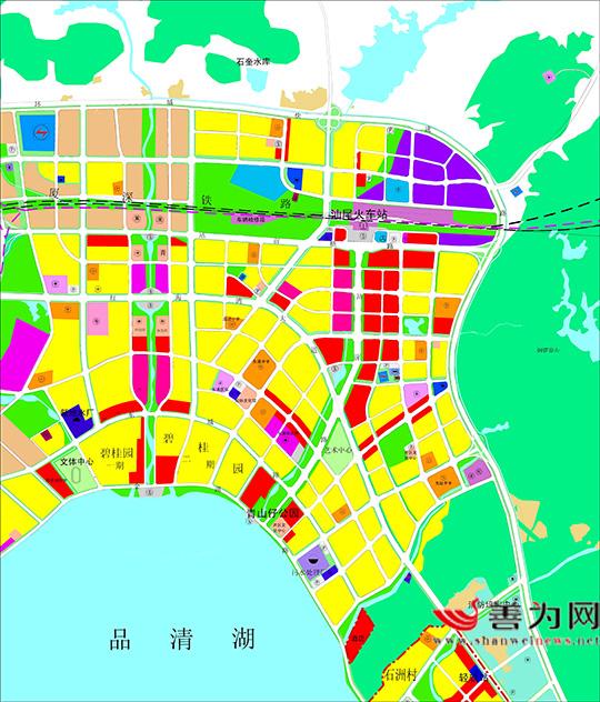 汕尾将建中央商务区 汕尾新闻 第2张