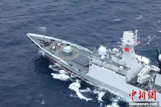 中国、泰国海军在汕尾某海域举行联合军演 汕尾新闻 第24张
