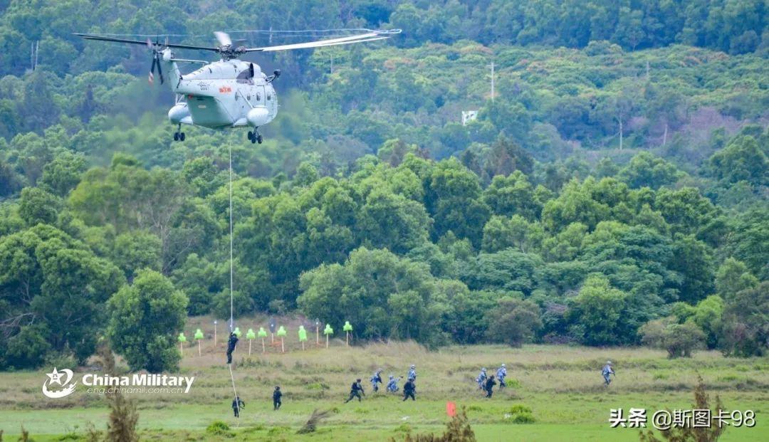 中国、泰国海军在汕尾某海域举行联合军演 汕尾新闻 第10张