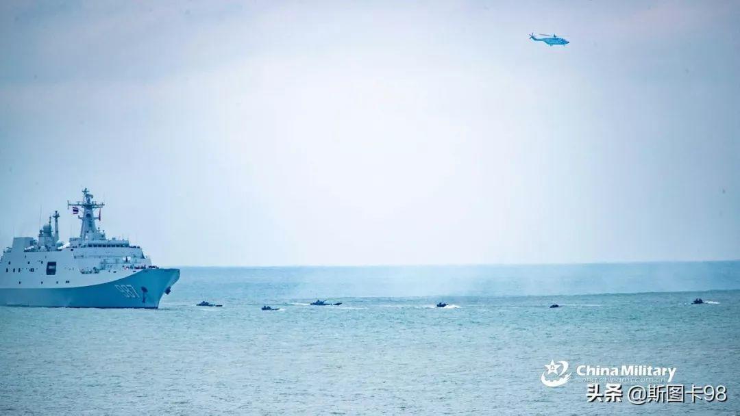 中国、泰国海军在汕尾某海域举行联合军演 汕尾新闻 第5张