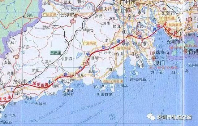 深茂铁路优化 或延伸至汕尾 汕尾新闻 第3张