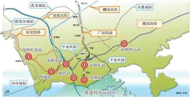 深茂铁路优化 或延伸至汕尾 汕尾新闻 第4张
