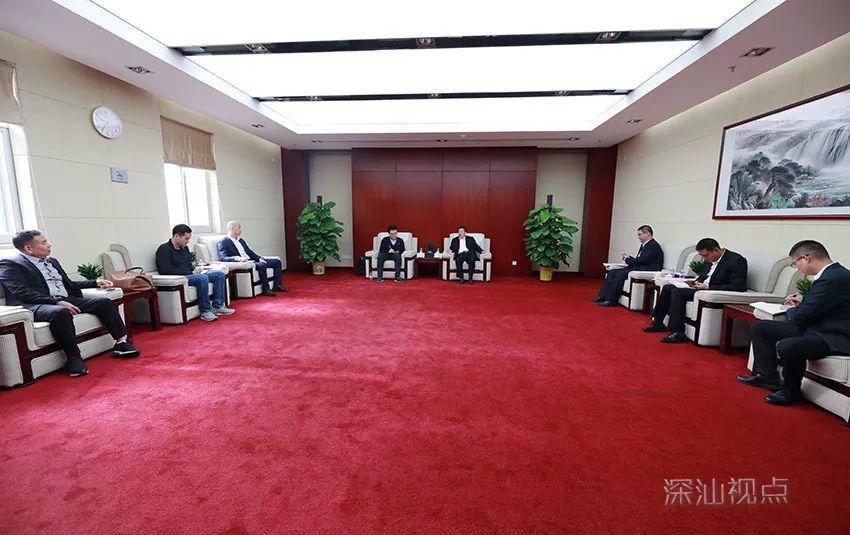 吉利汽车赴深汕特别新城考察未来出行研究院选址 深汕合作区 第2张