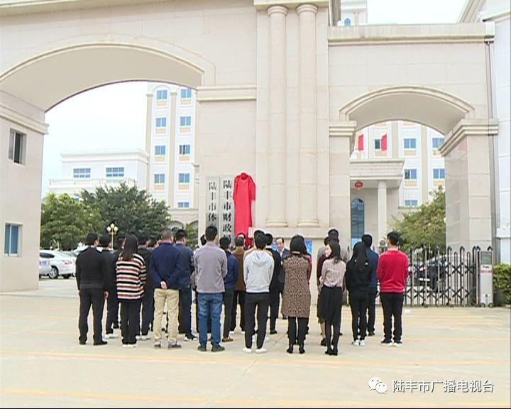 陆丰市一批新成立的工作机构挂牌 陆丰 第7张