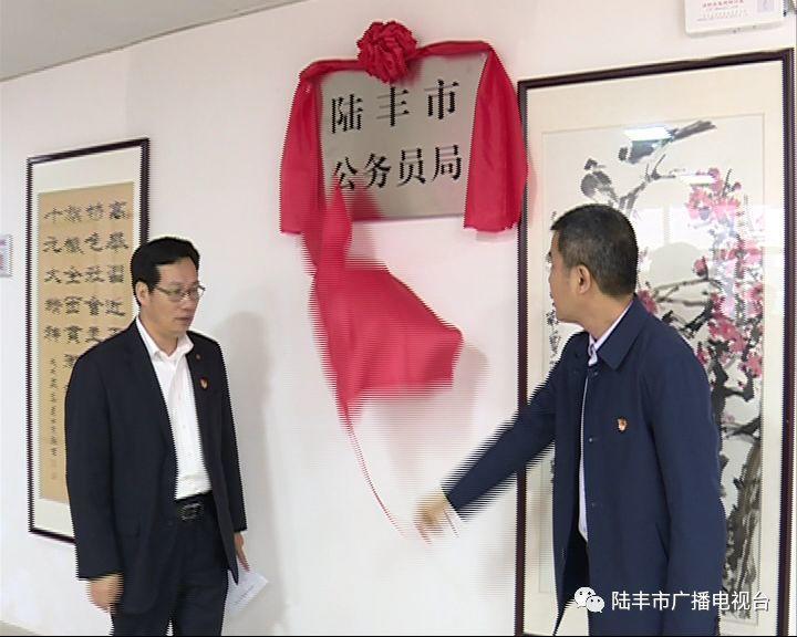陆丰市一批新成立的工作机构挂牌 陆丰 第17张