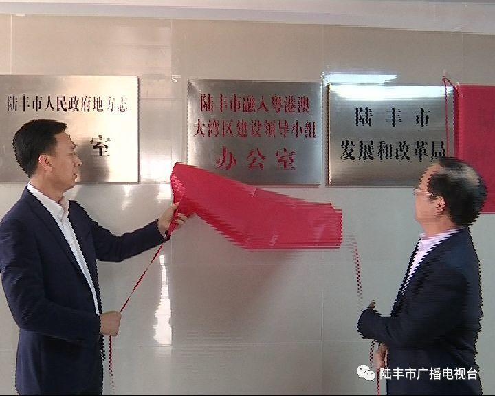 陆丰市一批新成立的工作机构挂牌 陆丰 第10张