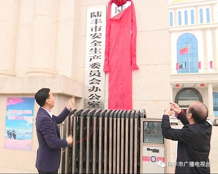 陆丰市一批新成立的工作机构挂牌 陆丰 第5张