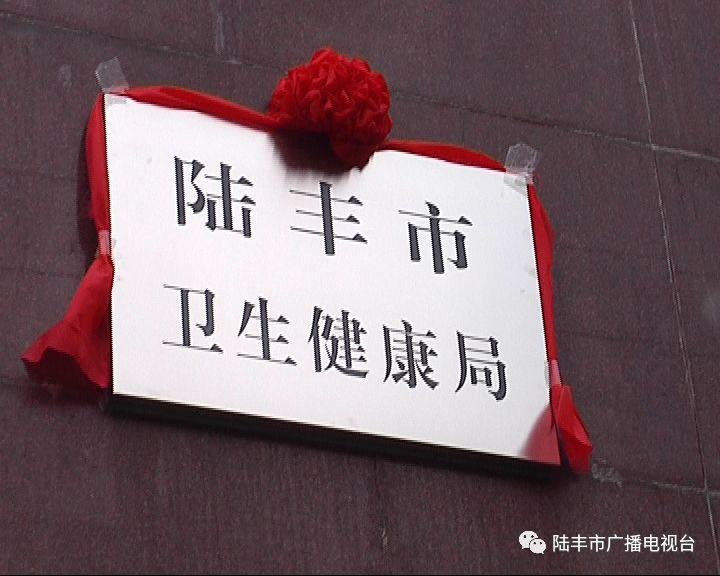 陆丰市一批新成立的工作机构挂牌 陆丰 第30张