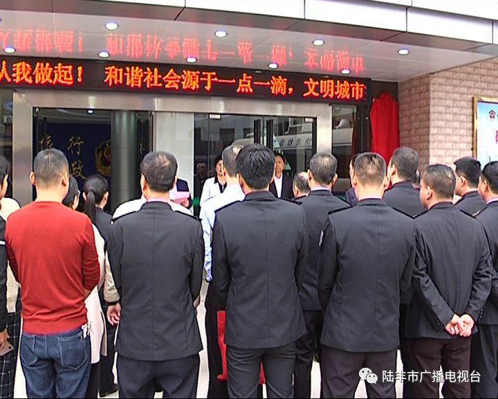 陆丰市一批新成立的工作机构挂牌 陆丰 第31张