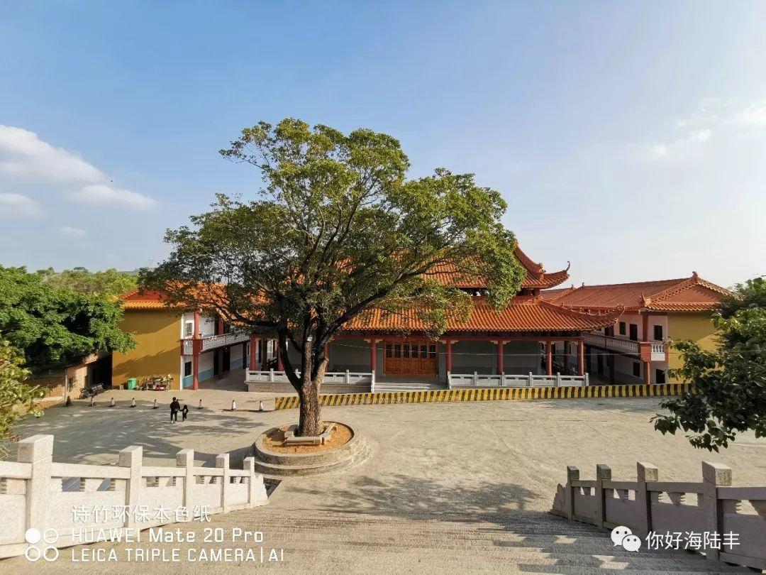 近200年历史的陆丰市旗山寺 焕然一新 汕尾吃喝玩乐 第5张