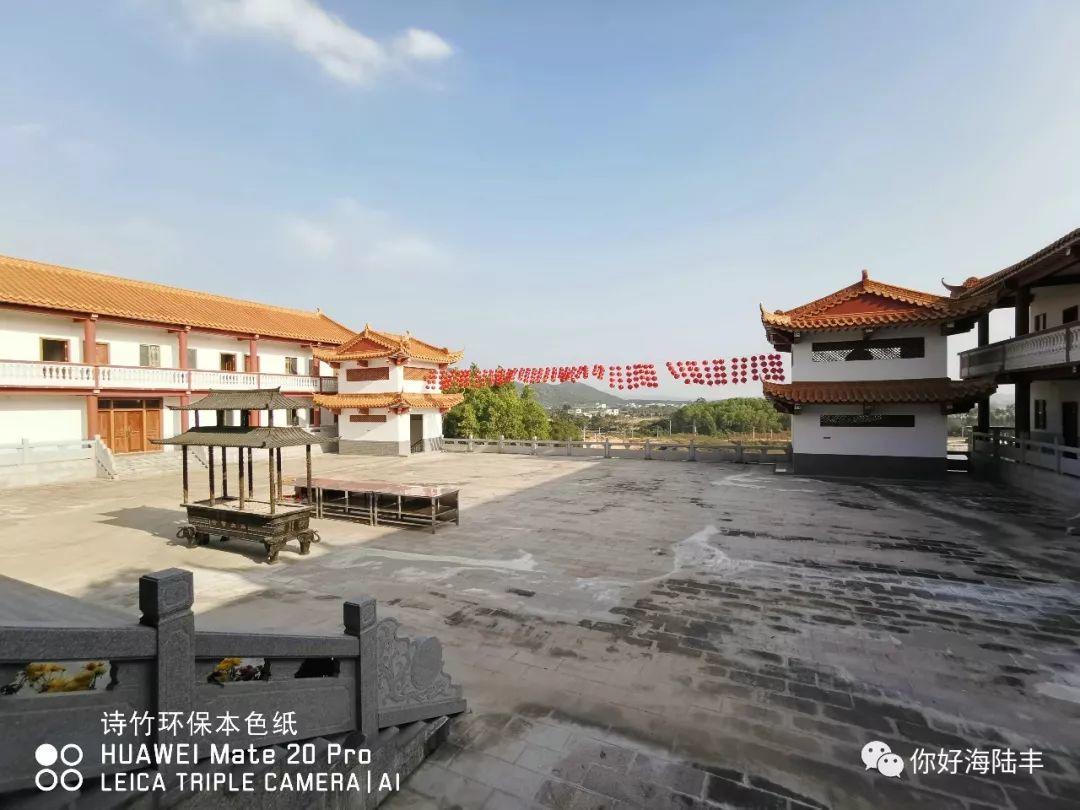近200年历史的陆丰市旗山寺 焕然一新 汕尾吃喝玩乐 第6张