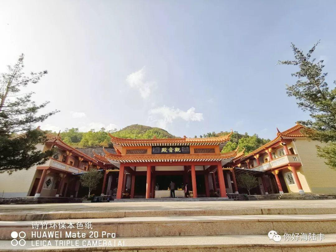 近200年历史的陆丰市旗山寺 焕然一新 汕尾吃喝玩乐 第2张