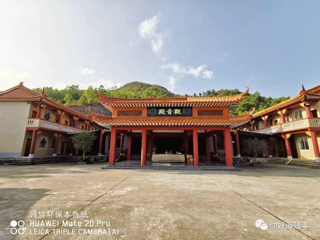 近200年历史的陆丰市旗山寺 焕然一新 汕尾吃喝玩乐 第3张