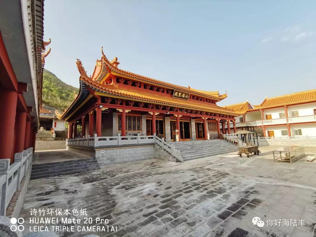 近200年历史的陆丰市旗山寺 焕然一新 汕尾吃喝玩乐 第9张