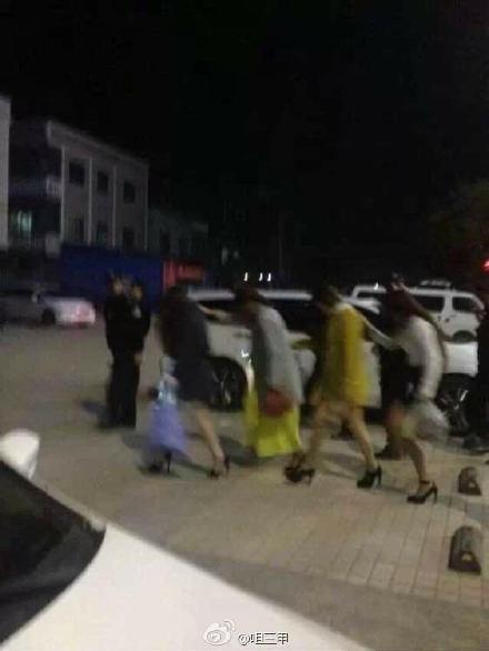 陆丰甲子豪门酒店深夜遭警方查毒扫黄 陆丰 第3张