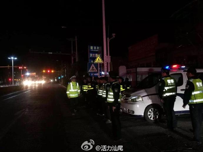 海丰县可塘镇出动近百人开展大清查行动 海丰新闻 第1张