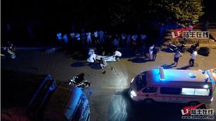 陆丰市东海镇六驿综合市场发生一起车祸 两人死亡 陆丰新闻