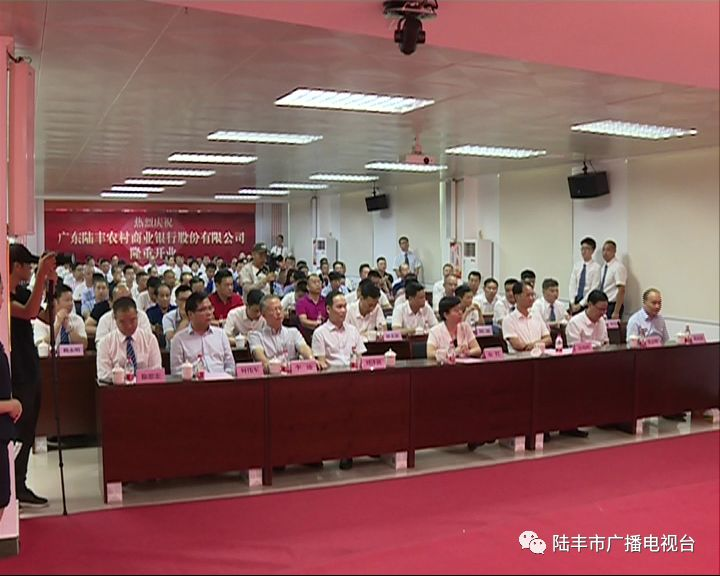 广东陆丰农村商业银行股份有限公司挂牌开业 陆丰 第2张