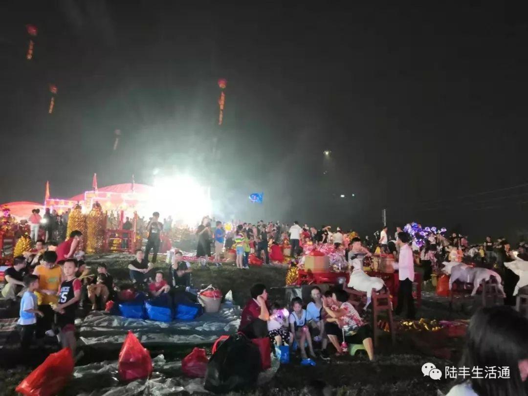 陆丰北湖村举办大型拜神祈福活动 陆丰新闻 第2张