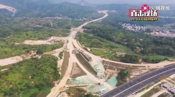 华陆高速(陆河段)预计十一月底完成路基建设 陆河 第2张