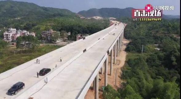 华陆高速(陆河段)预计十一月底完成路基建设 陆河 第4张
