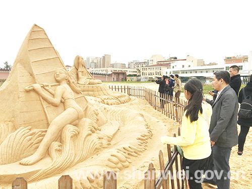 2016红海湾沙雕艺术节在红海湾遮浪半岛举行 持续到17年3月 汕尾新闻 第1张