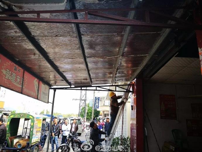 海丰县联安镇出动一百多人 开展违建违搭专项整治行动 海丰 第4张
