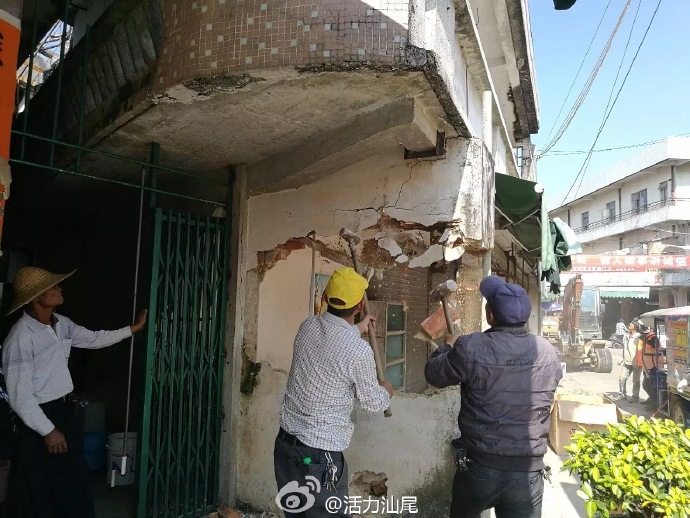海丰县联安镇出动一百多人 开展违建违搭专项整治行动 海丰 第7张