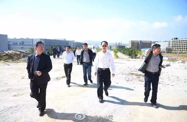 汕尾市副市长何学文率队现场检查合作区PPP道路建设项目推进情况 深汕合作区 第2张