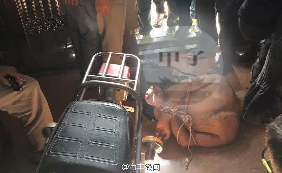 陆丰一男子白天入室行窃被当场抓获 陆丰 第1张