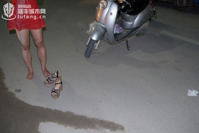 陆丰东海四十米大道发生抢劫恶性案件 陆丰