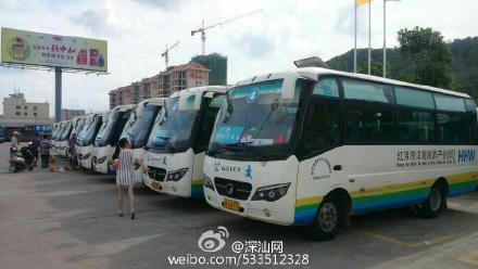 汕尾市区40辆应急公交车投入营运 汕尾 第1张