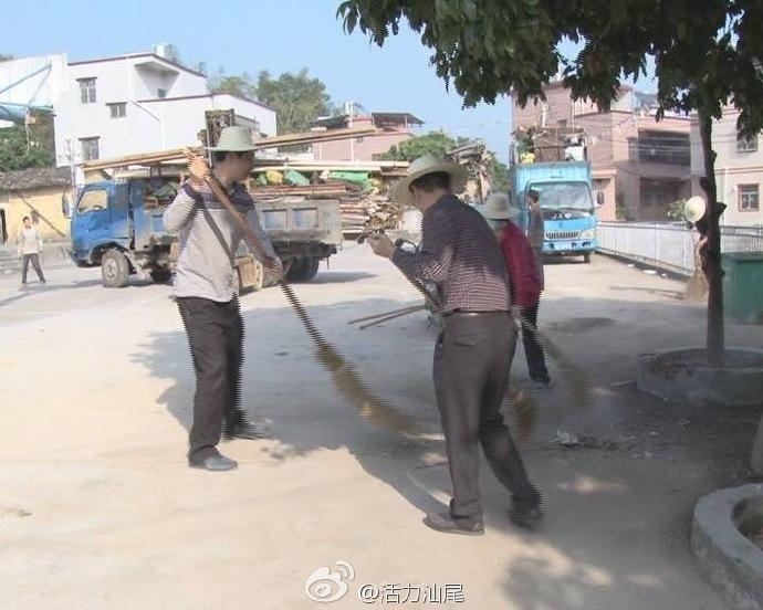 陆河县河田镇上径村开展环境卫生整治 陆河 第1张