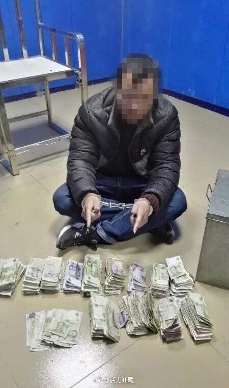 """海丰公安抓获一名""""偷香油钱""""男子 海丰新闻"""