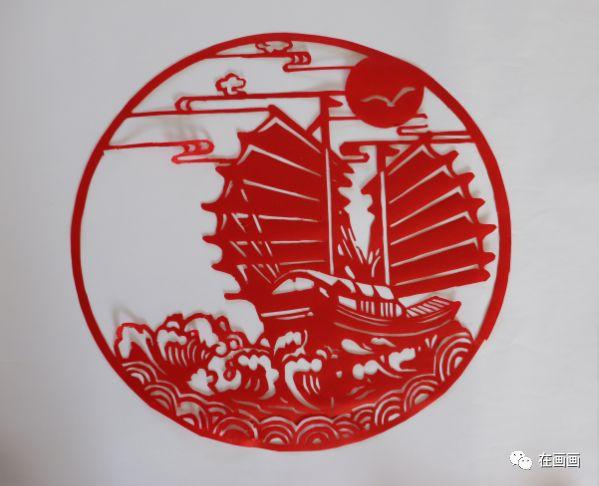 陆丰市湖东中学一女老师代领学生将中国历史做成剪纸 陆丰新闻 第12张