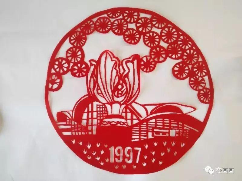 陆丰市湖东中学一女老师代领学生将中国历史做成剪纸 陆丰新闻 第8张