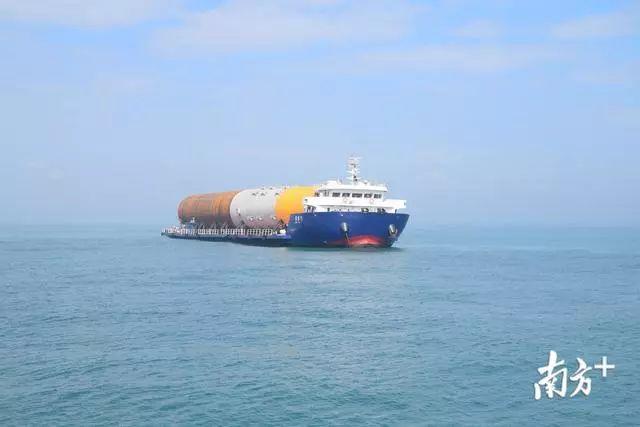 汕尾海上风电项目在陆丰湖东镇打下第一桩 陆丰新闻 第2张
