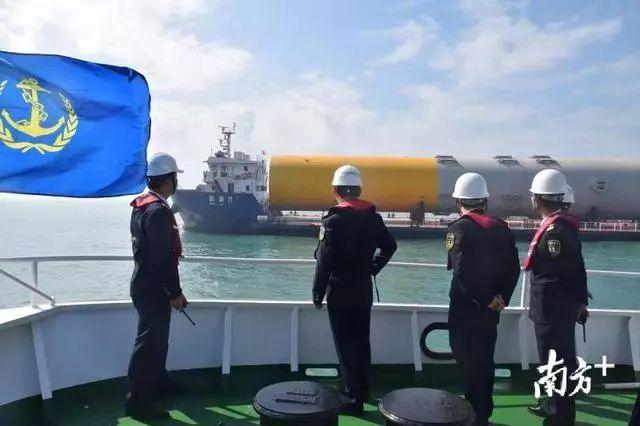 汕尾海上风电项目在陆丰湖东镇打下第一桩 陆丰新闻 第1张