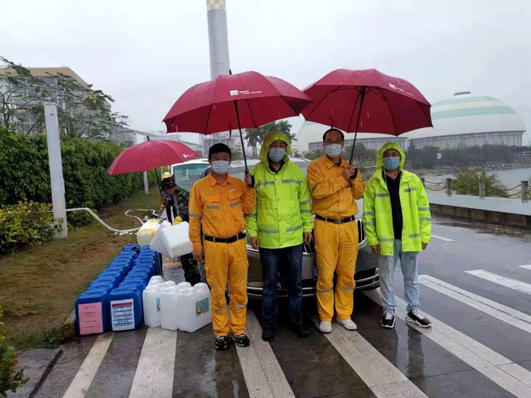 华润海丰电厂自产消毒水 并表示可以免费提供社会企业 海丰新闻 第3张