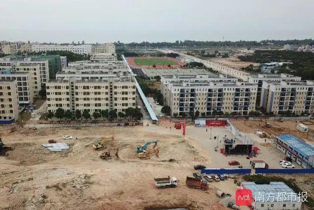 华师附中汕尾学校小学部开工建设  9月预计招生1800人 汕尾新闻 第1张