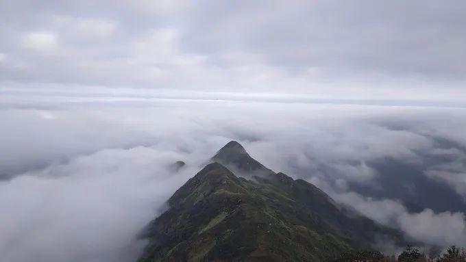 海丰莲花山飞瓦寺成新网红景点 登山顶可看云海 海丰新闻 第1张