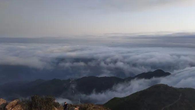 海丰莲花山飞瓦寺成新网红景点 登山顶可看云海 海丰新闻 第8张