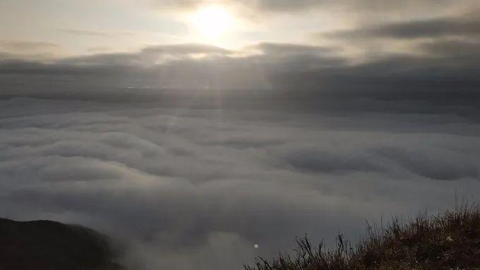海丰莲花山飞瓦寺成新网红景点 登山顶可看云海 海丰新闻 第7张