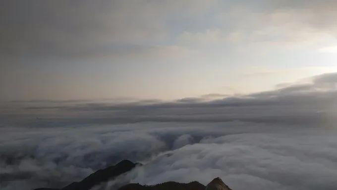 海丰莲花山飞瓦寺成新网红景点 登山顶可看云海 海丰新闻 第9张